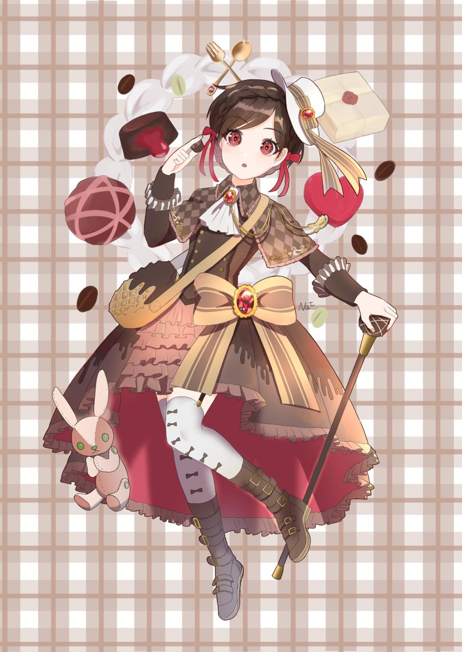 ガトーショコラ Illust of 名取そじ girl oc