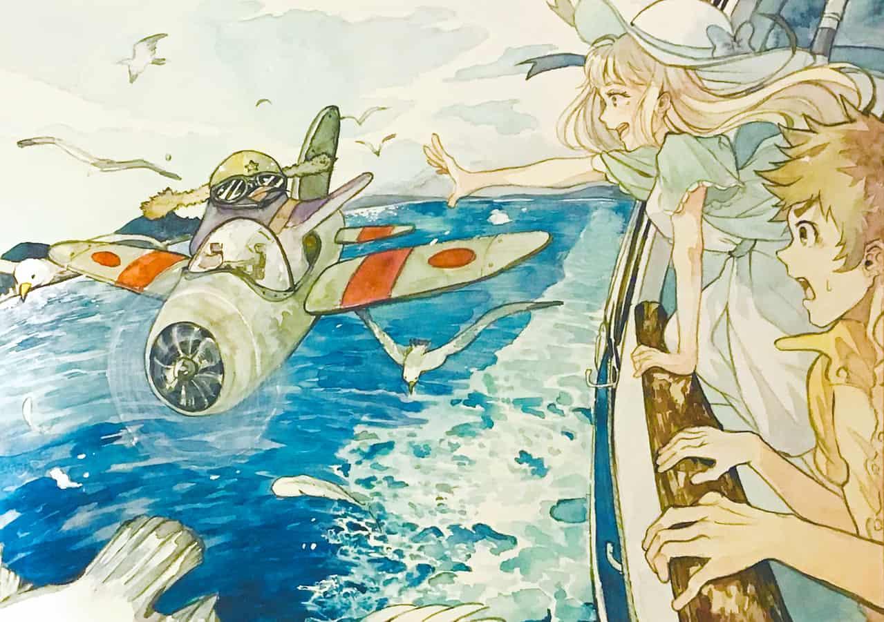 瀬戸内の侵略者 Illust of 陳田こころ illustration アナログ Penguin oc watercolor sea