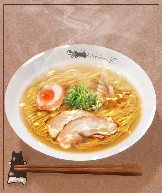 塩らーめん Illust of KUROKOGIworks Ramen 飯テロ food