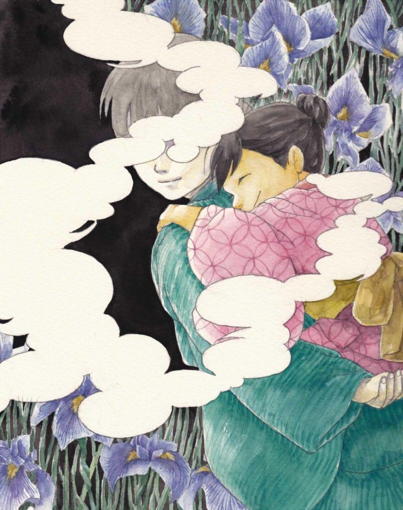 鬼子母火 Illust of フジカワ 菖蒲 アナログ watercolor