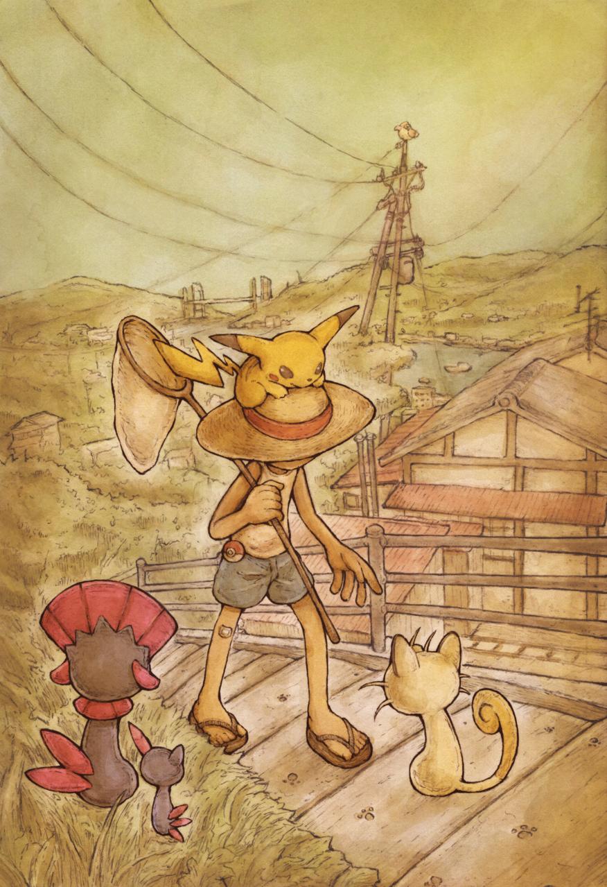 まだ帰りの道のことは心配しなくていいよ Illust of ウスイソト 広島県 pokemon 尾道市 PokémonGO