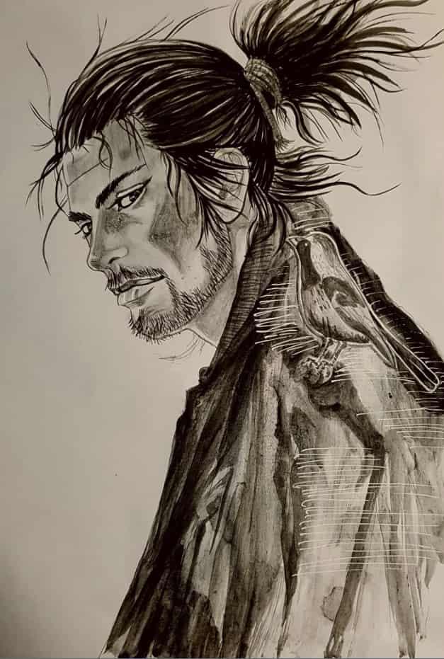 バガボンド  Illust of soulmate0130 illustration バガボンド fanart medibangpaint anime sketch drawing Artwork manga art