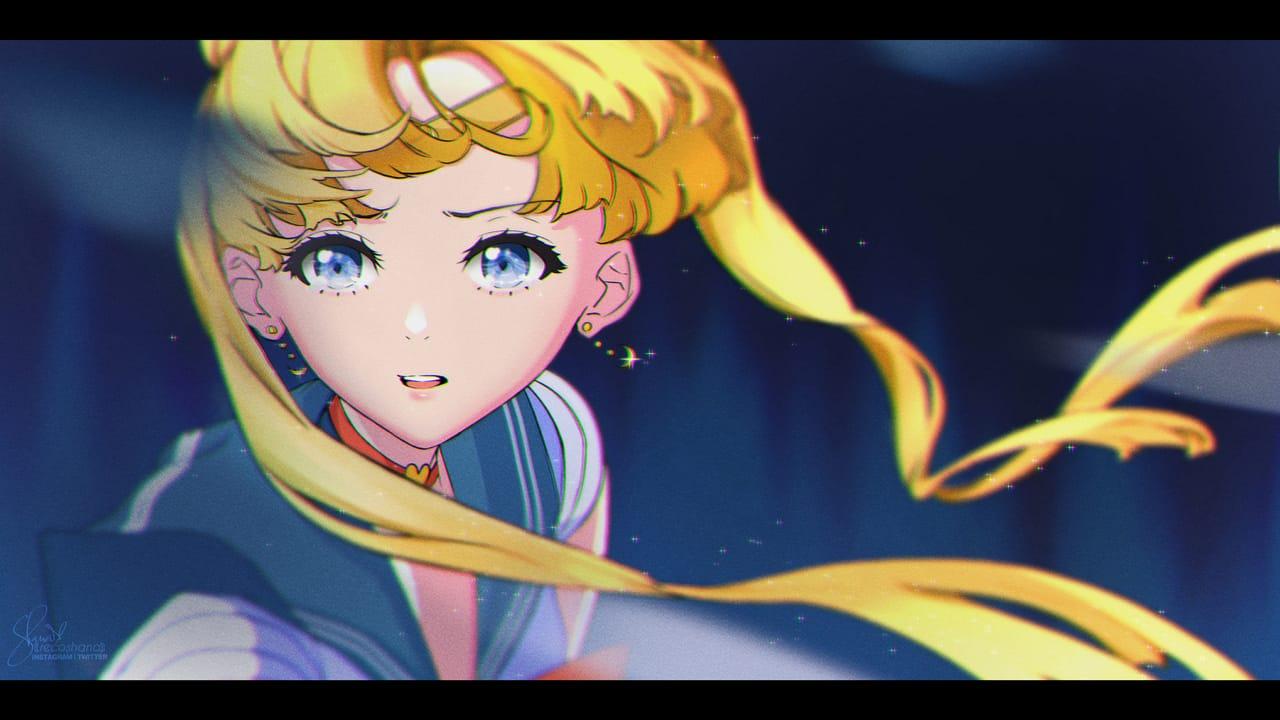 Sailormoon Redraw Challenge Illust of recoshana digital sailormoondrawing illustration SailorMoonUsagi digitalillustration digitaldrawing anime sailormoonredraw animeart animegirl