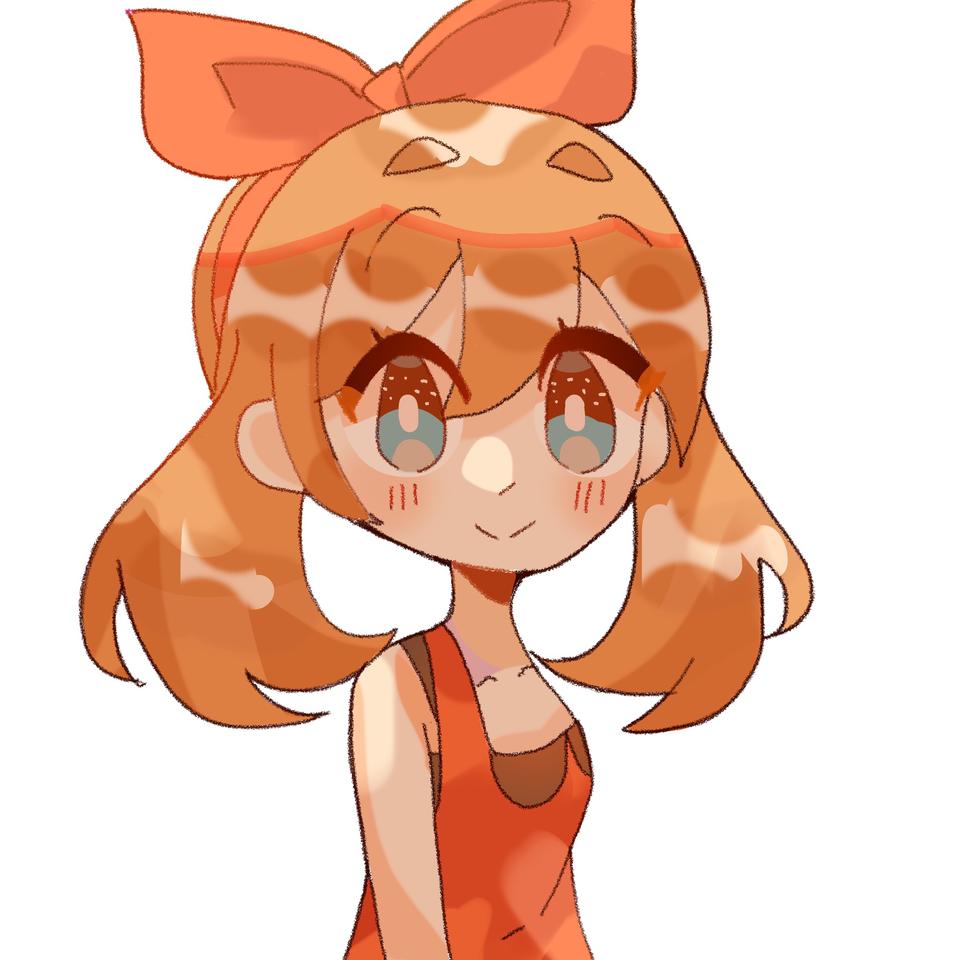 may Illust of pErSon girl pokemon original fanart may medibangpaint anime