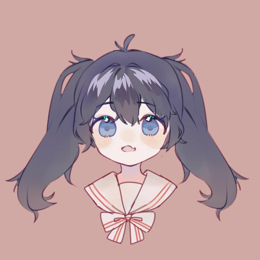 Illust of 月饼 medibangpaint twin_ponytails girl