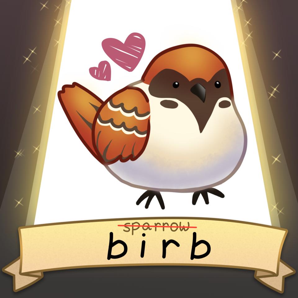 Illust of ROZMΛRI SoBadItsGood birds cute