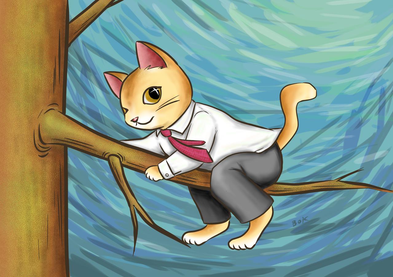 ねこ社員 Illust of BoK(男爵) cat