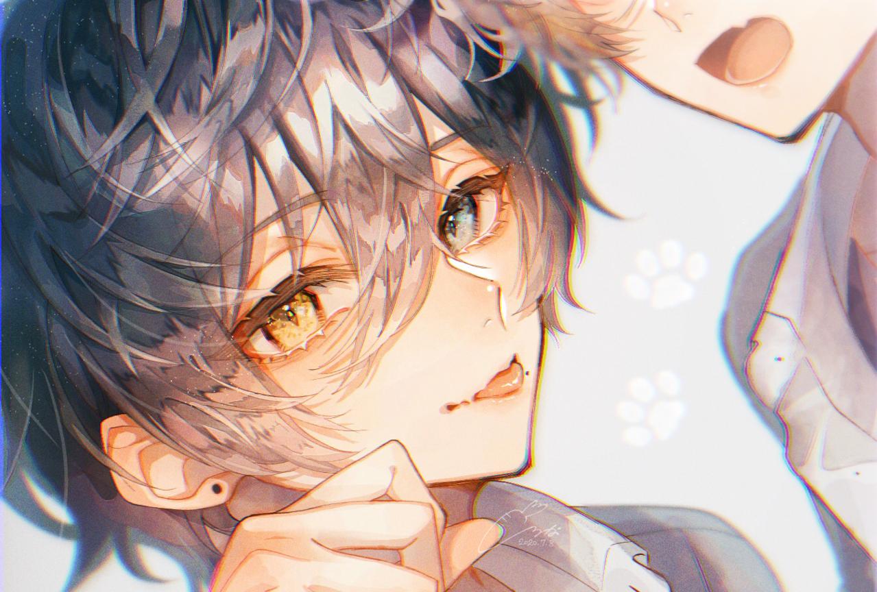 🐾 Illust of 白菜なな boy 一次創作 双子