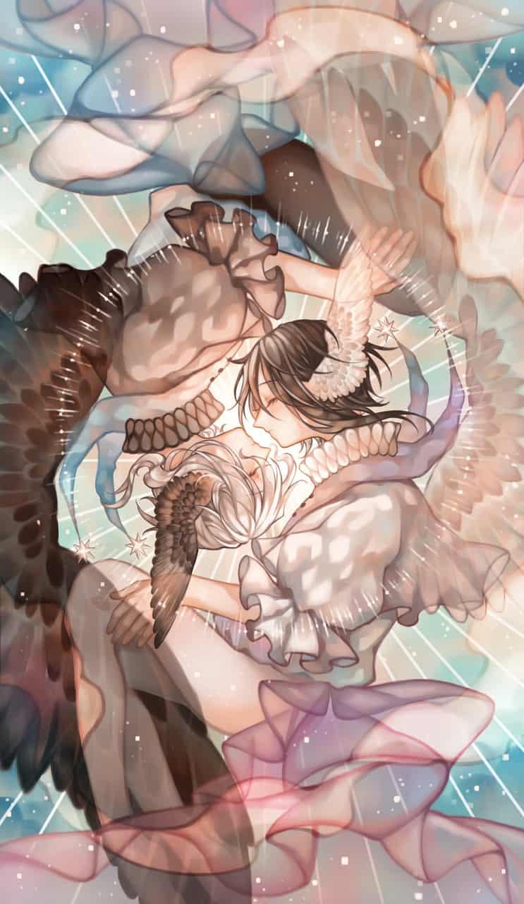 雙子座 Illust of evekuma 絵画 painting 画 落書 illustrations 星座 電繪 繪
