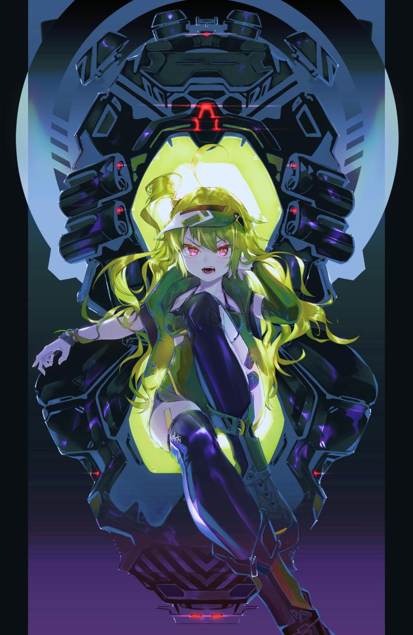 Illust of 田黒類 sci-fi girl original