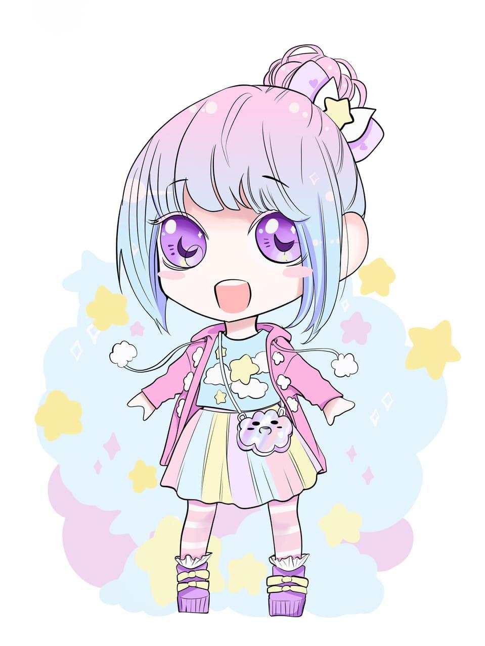 Yume Kawaii Girl Illust of Nass cute girl kawaii fashion chibi oc
