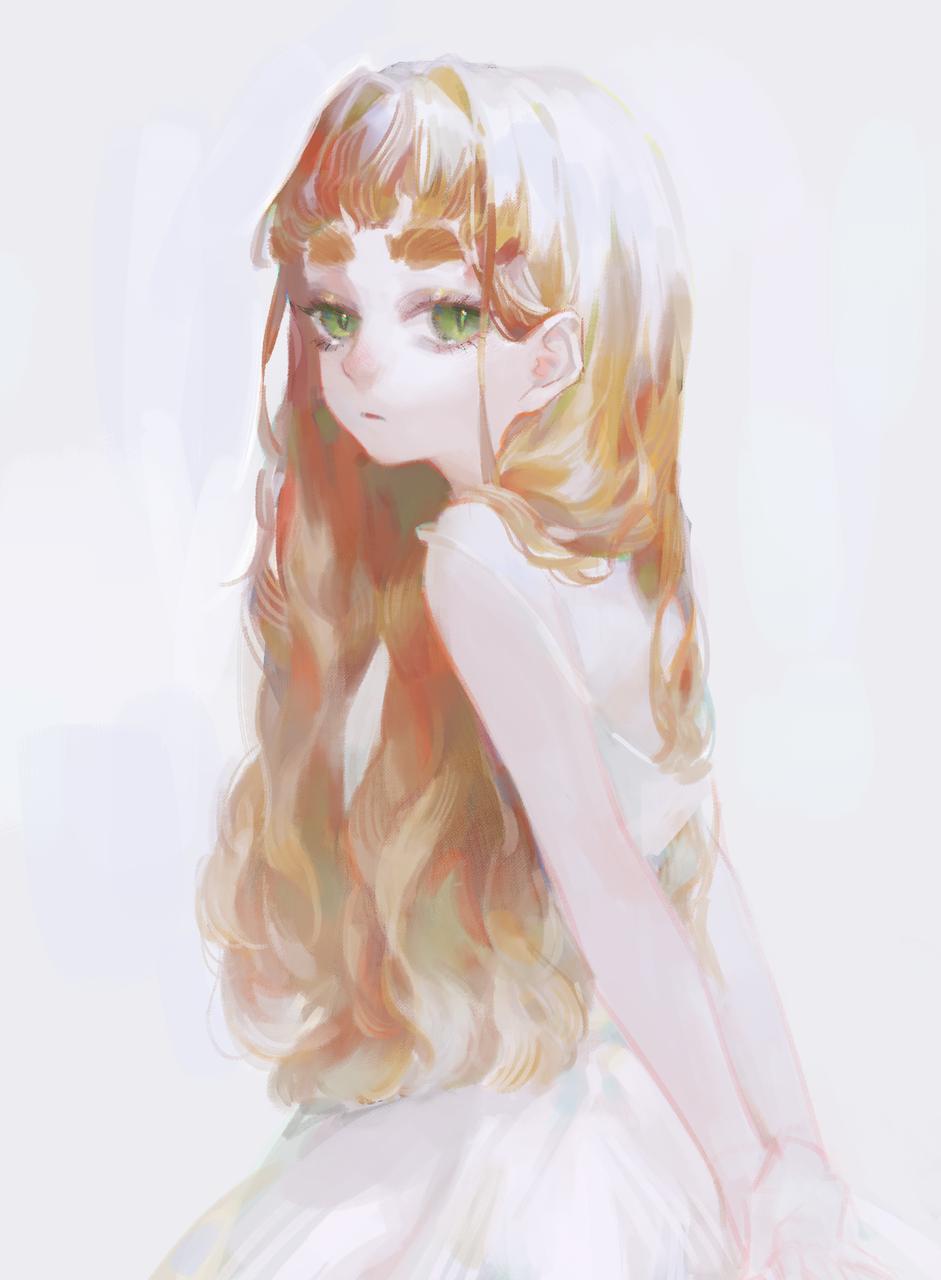 - Illust of ilion girl oc