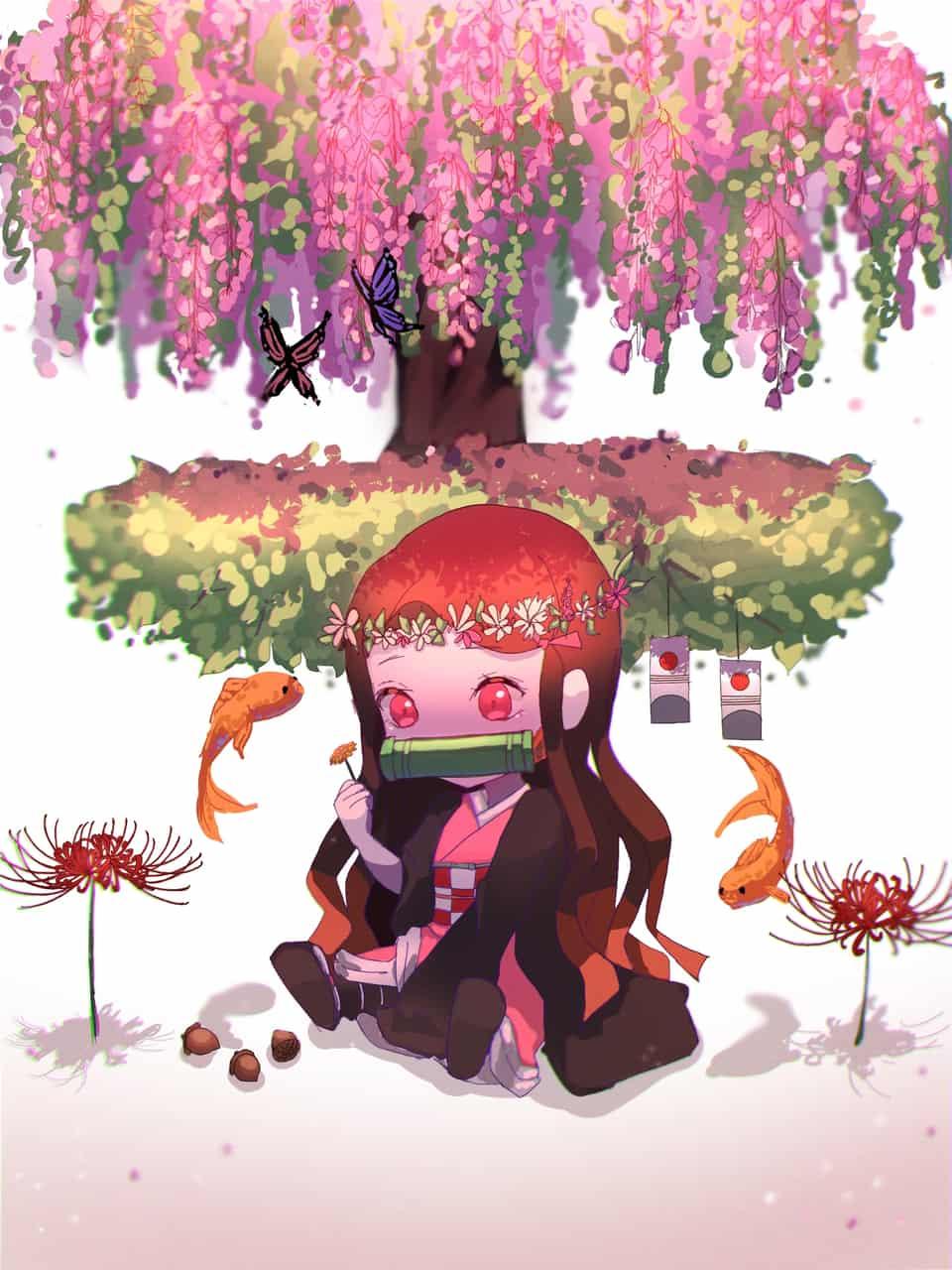 禰豆子 Illust of 향화 DemonSlayerFanartContest KimetsunoYaiba KamadoNezuko