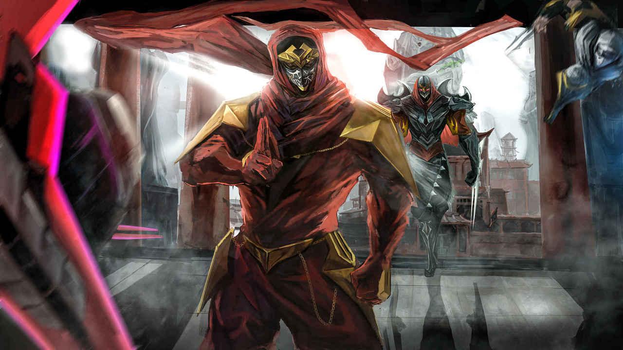 [どうじん][NINJA SLAYER x ZED]YEEEART!!!! Illust of 3duo COOL ninja どうじん LeagueofLegends