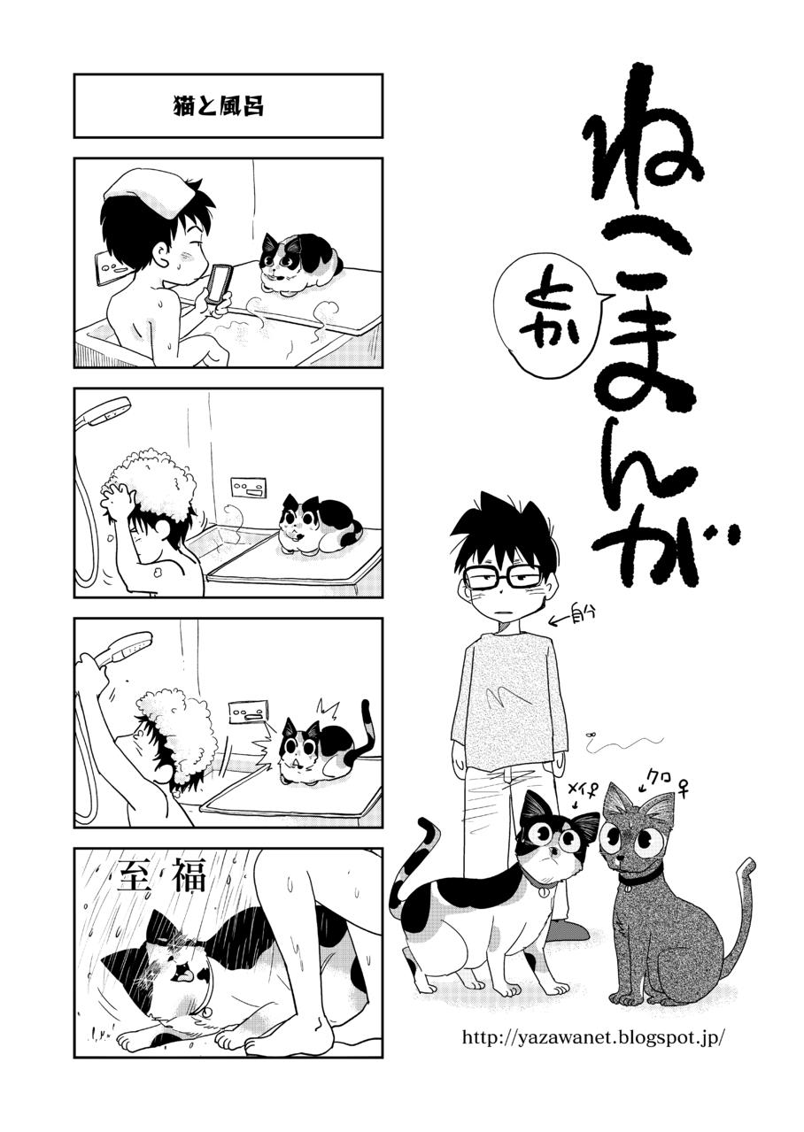猫とかまんが1