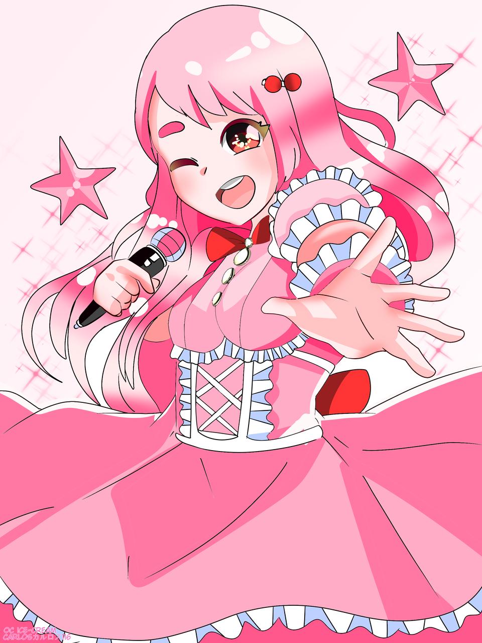 OC: ice-cream (pink stars (ピンクの星 )