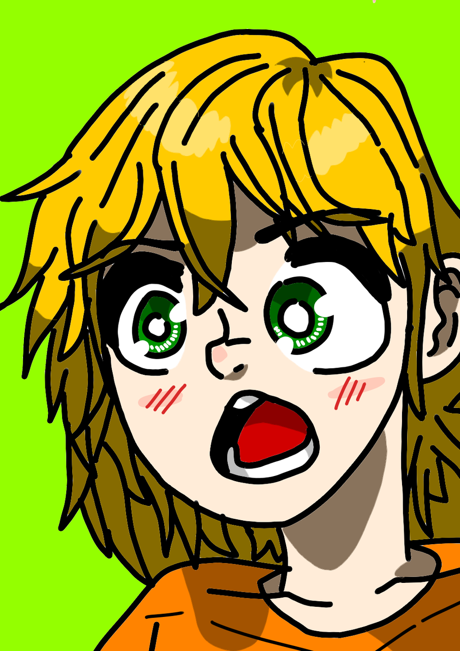 Surprise Face The Cartoonist That Draw Anime Illustrations Art
