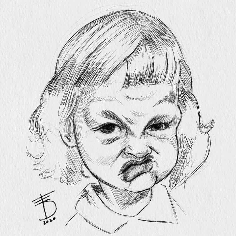 Kid  Illust of Derwelt art Drawings drawing Medibang portrait medibangpaint sketch Artwork artist medibang