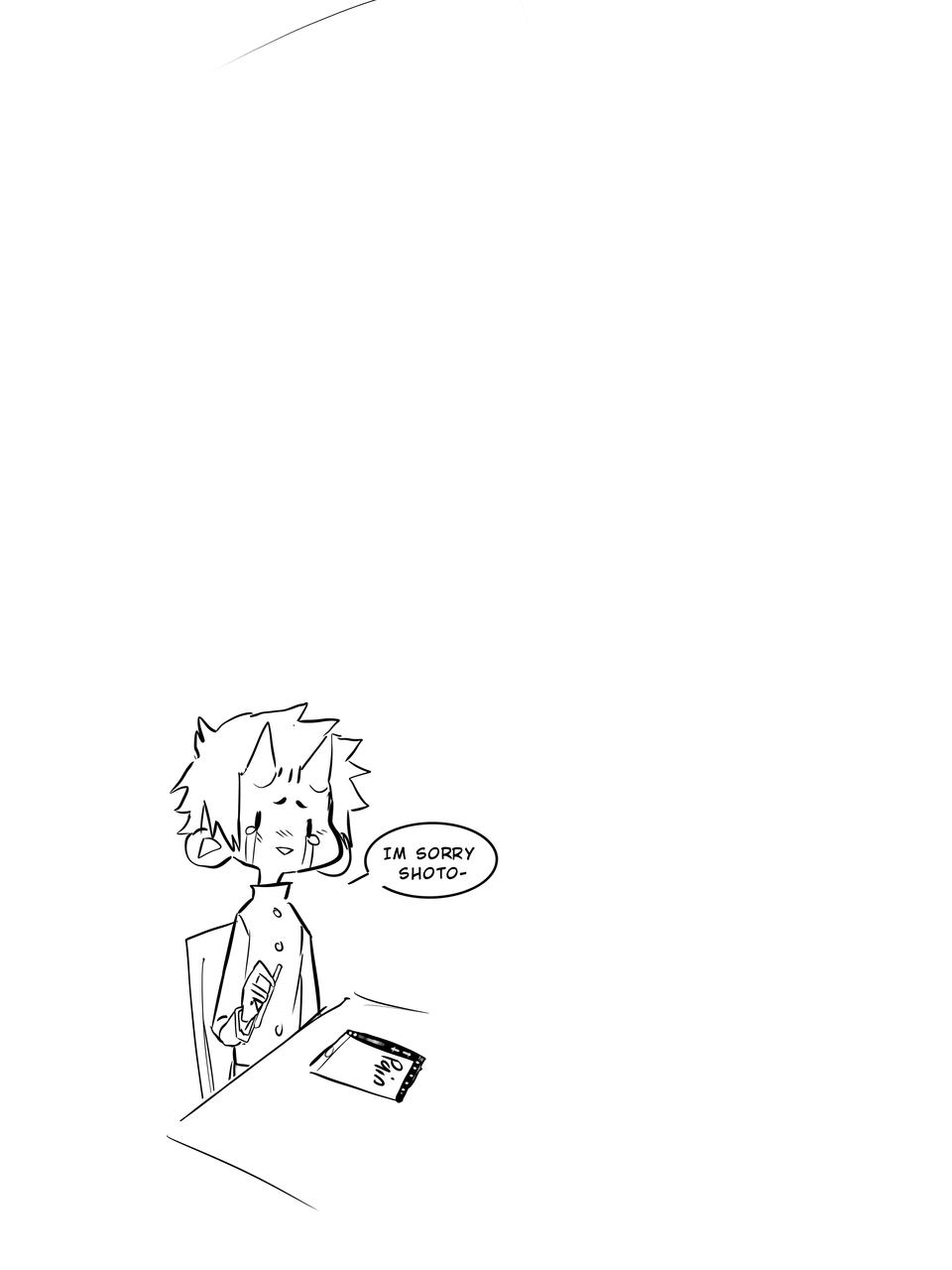 Shoto—- Illust of PogoRabbit ||baku mode|| midevil MyHeroAcademia PAIN! Oof Shoto_Todoroki TeaHea