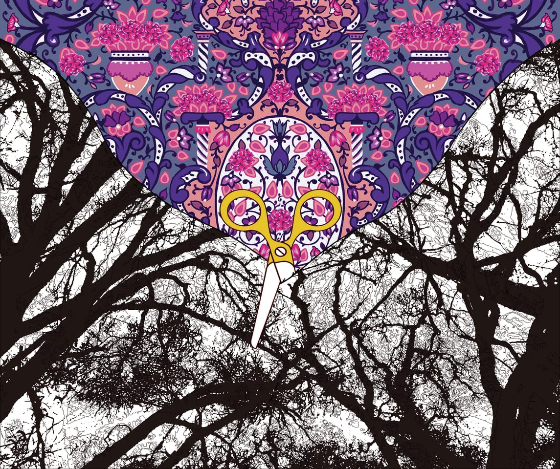 Mask design/The new world  Illust of nadiadibaj MaskDesignContest design illustration characterart Mask digitaldrawing Artwork