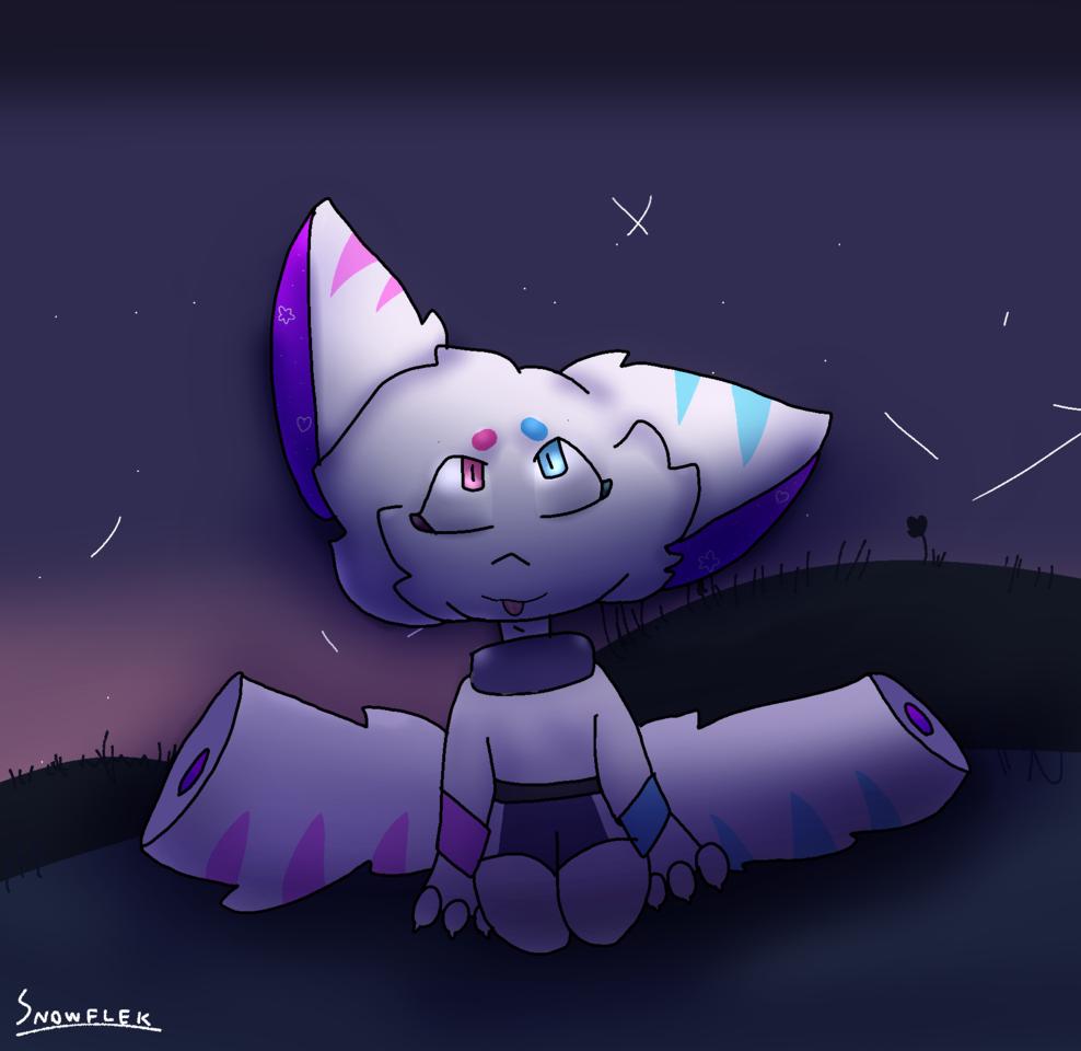 for a contest~ 🌌 Illust of Snowflek009 medibangpaint