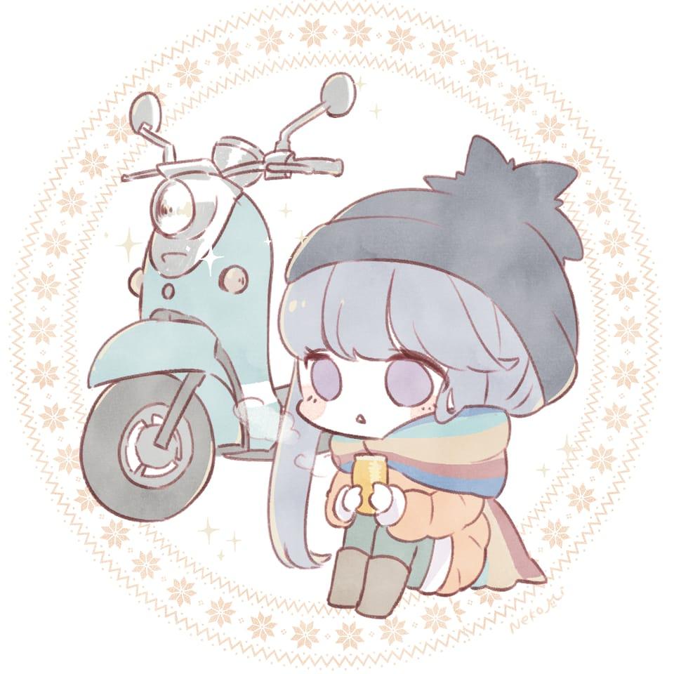 志摩リン Illust of ねこ美 志摩リン デフォルメ Laid-BackCamp chibi