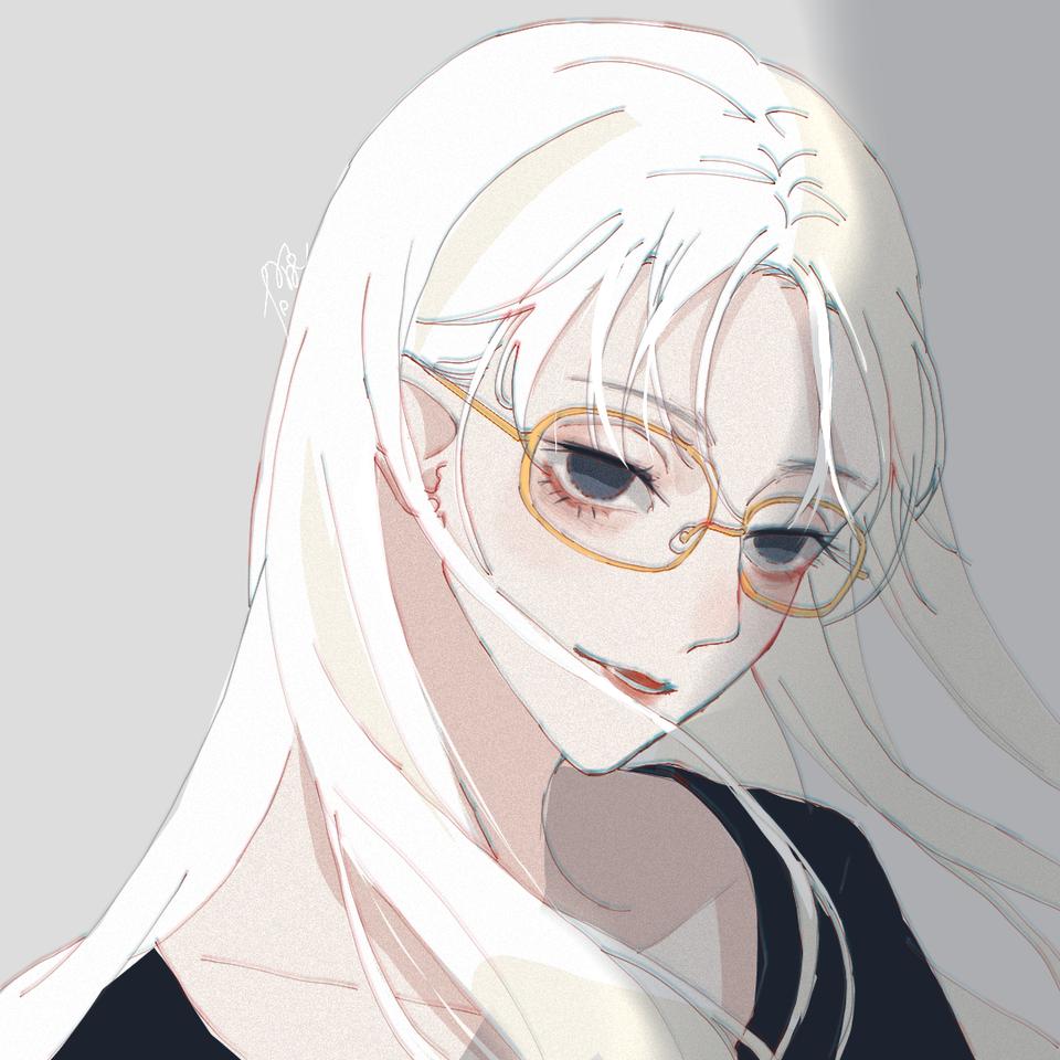 Illust of 那我男神就张培基吧 medibangpaint girl head original