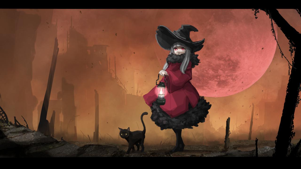 紅月の魔女