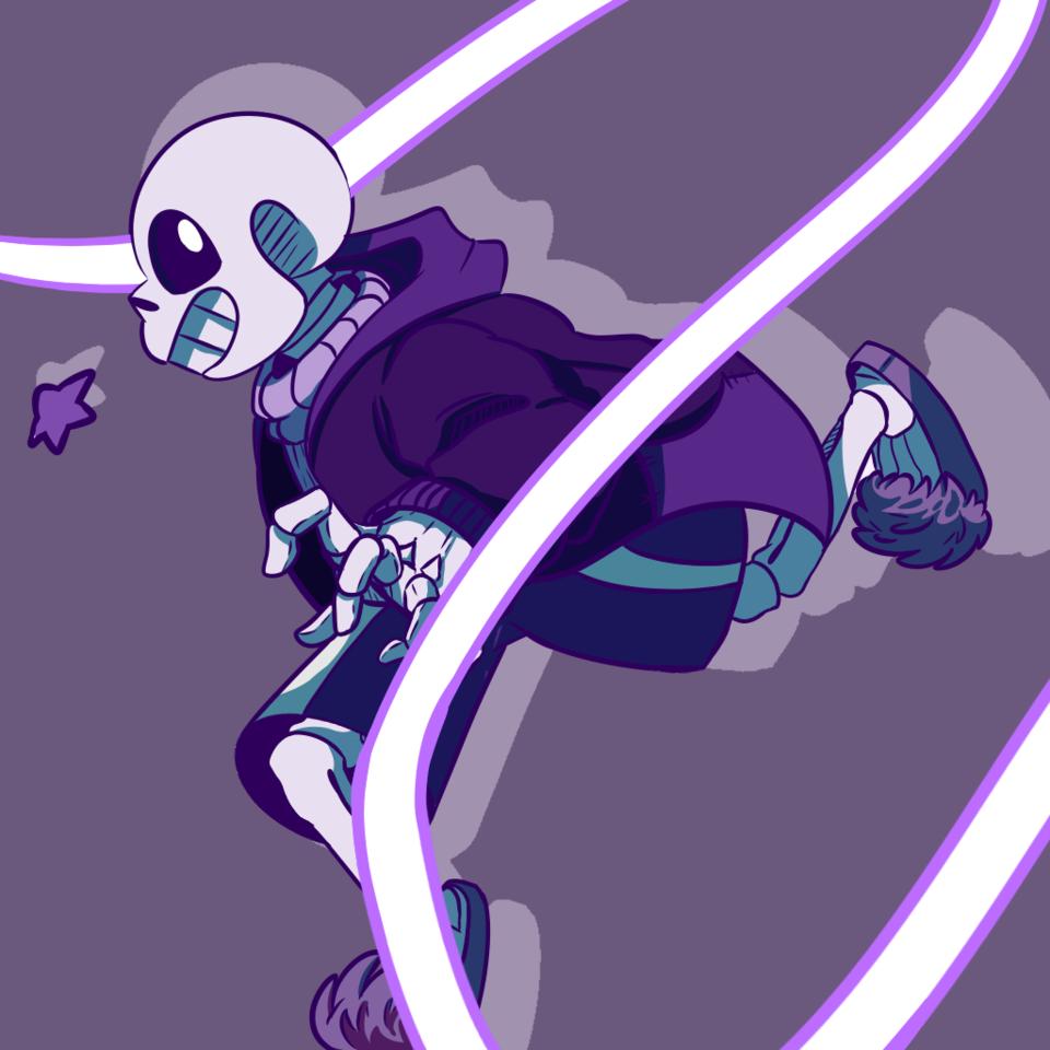 Sans (Purple Colour palette)