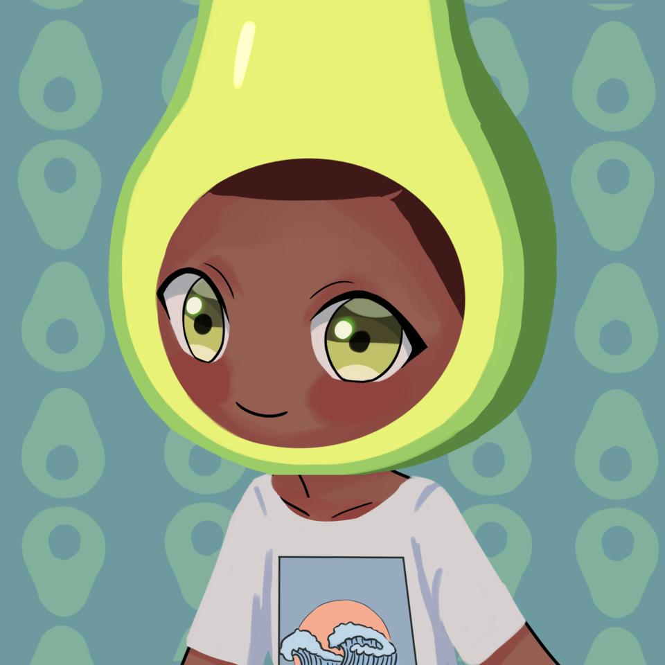 cute avocado #2 Illust of lrnart97 iPad_raffle freeprofilepic boy cute medibangpaint