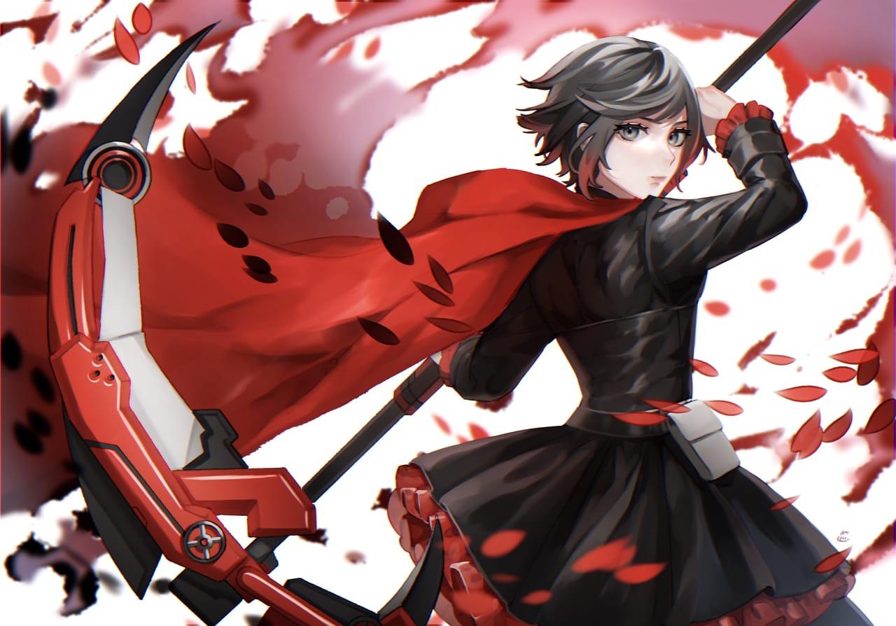 Ruby Rose Illust of ねぎ玉 fanart RWBY