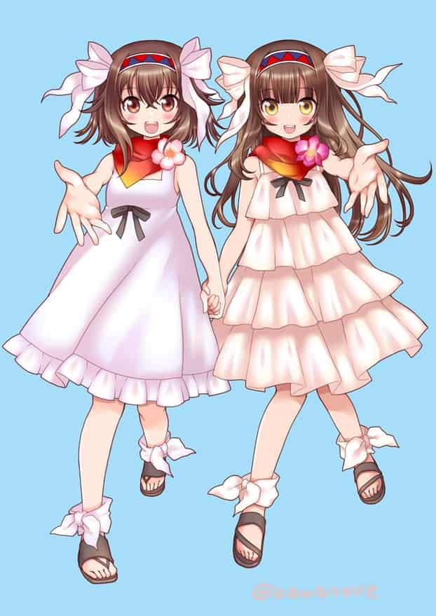 タイと日本の友好 Illust of 川野辺 タイ girl もえしょく フリル