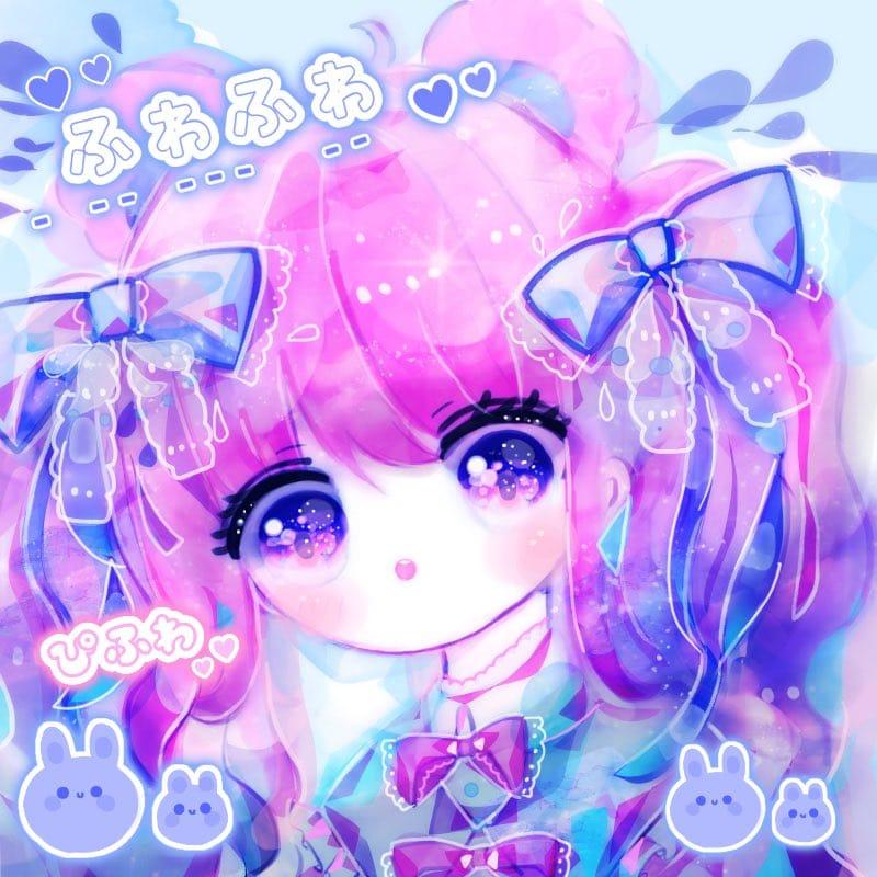 きらめく Illust of ぴふわ original twin_ponytails oc girl ゆめかわいい
