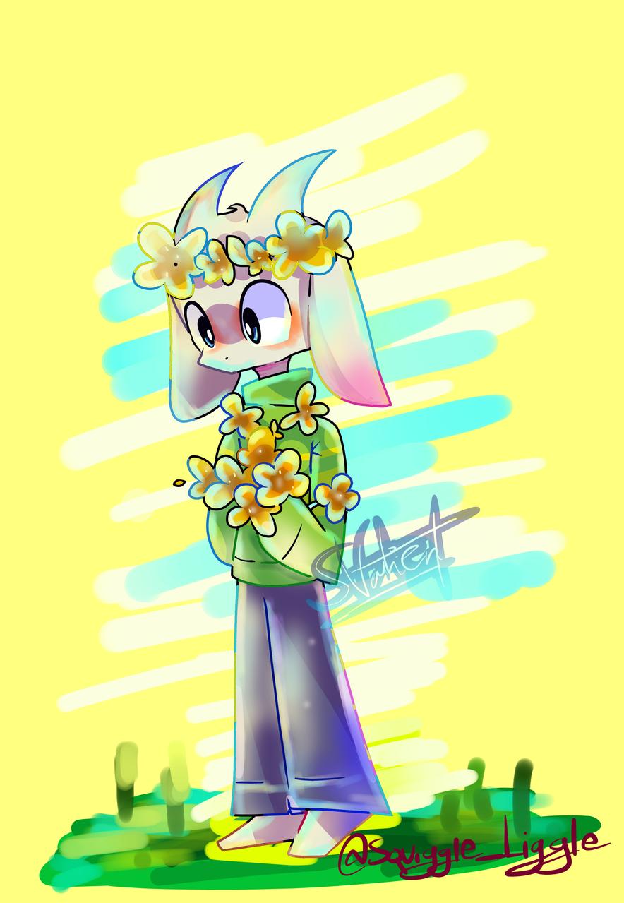 Asriel the good goat boi