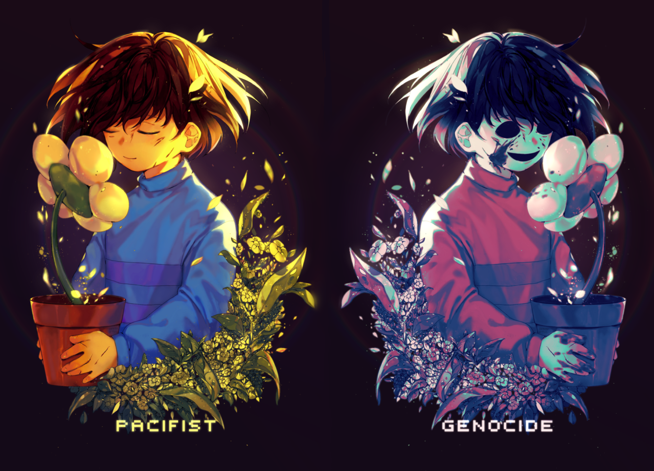 pacifist & genocide