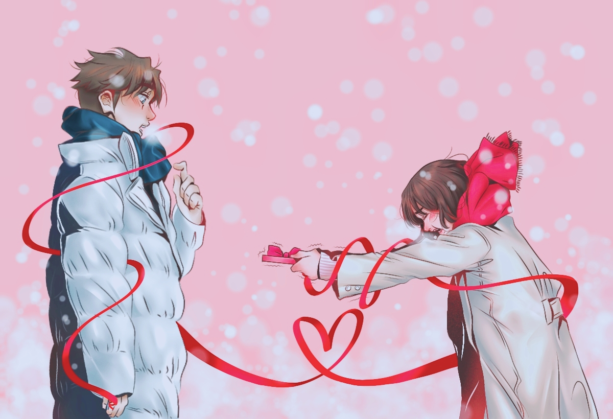 Unexpected Valentine Confession/fattocouchpotato