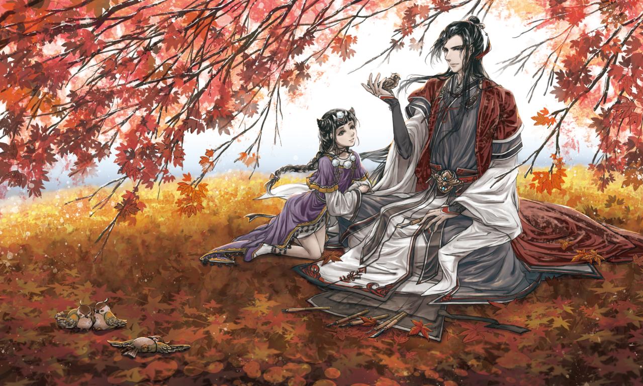 秋意刻下 Illust of 流浪兔仔LinYu 3rdMCPOillustration illustration 古風