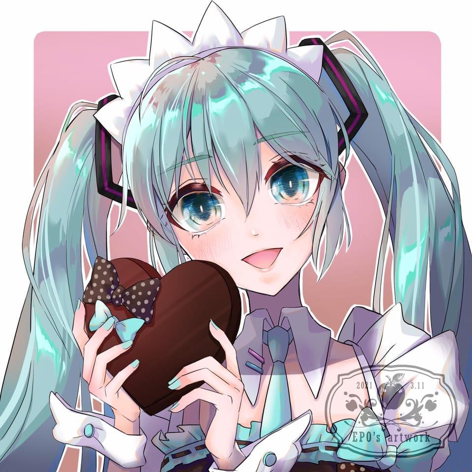 白色情人節 Illust of EPO ホワイトデー hatsunemiku 白色情人節 VOCALOID vocaloidfanart