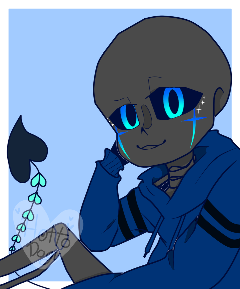 new character, name Hailen.  Illust of hotto dogu medibangpaint