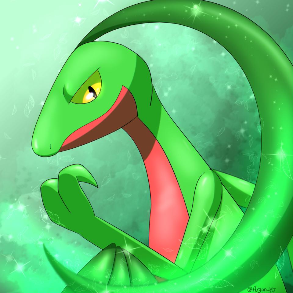 ジュプトル🦖🍃 Illust of 🐉ゆじゅ🐧 ジュプトル pokemon Grovyle