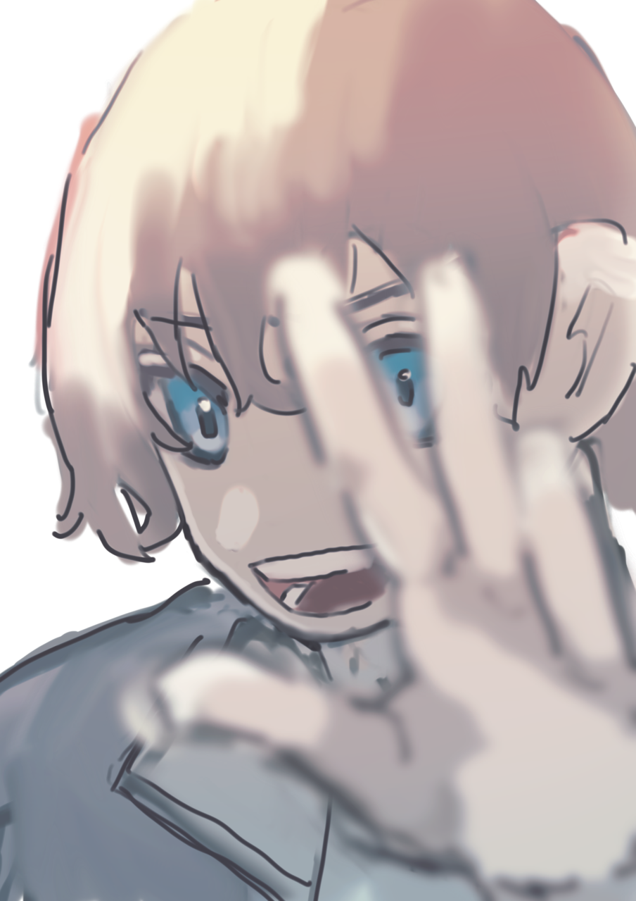 Illust of w boy レッツワンドロ