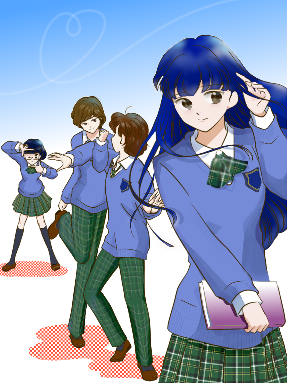 ~悩めるBoysとSweet Heartー Illust of sifiru GOMABOOKS_Contest medibangpaint