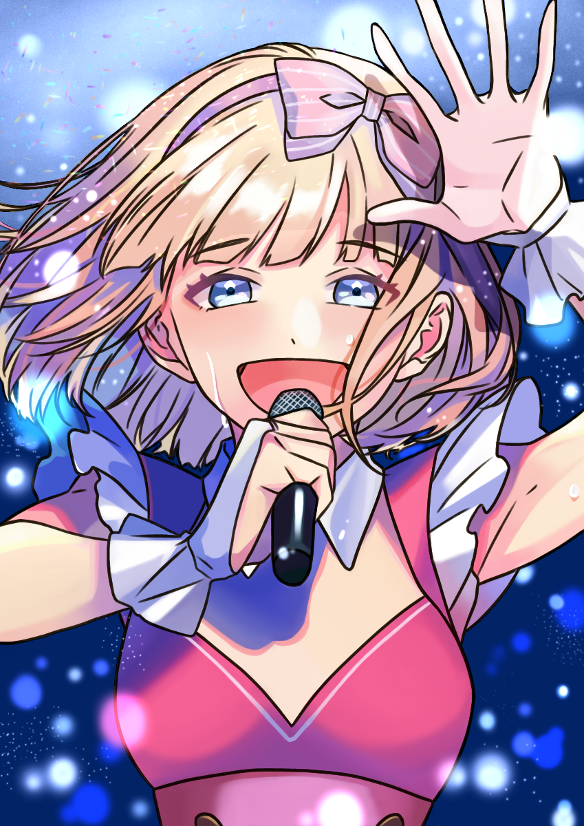 アイドル Illust of ナマケモノ medibangpaint