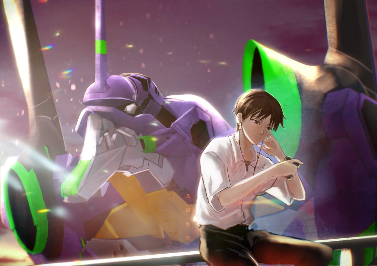 Lo-Fi初号機 Illust of horoharo 初号機 碇シンジ シン・エヴァンゲリオン劇場版 2021 EVANGELION horoharo