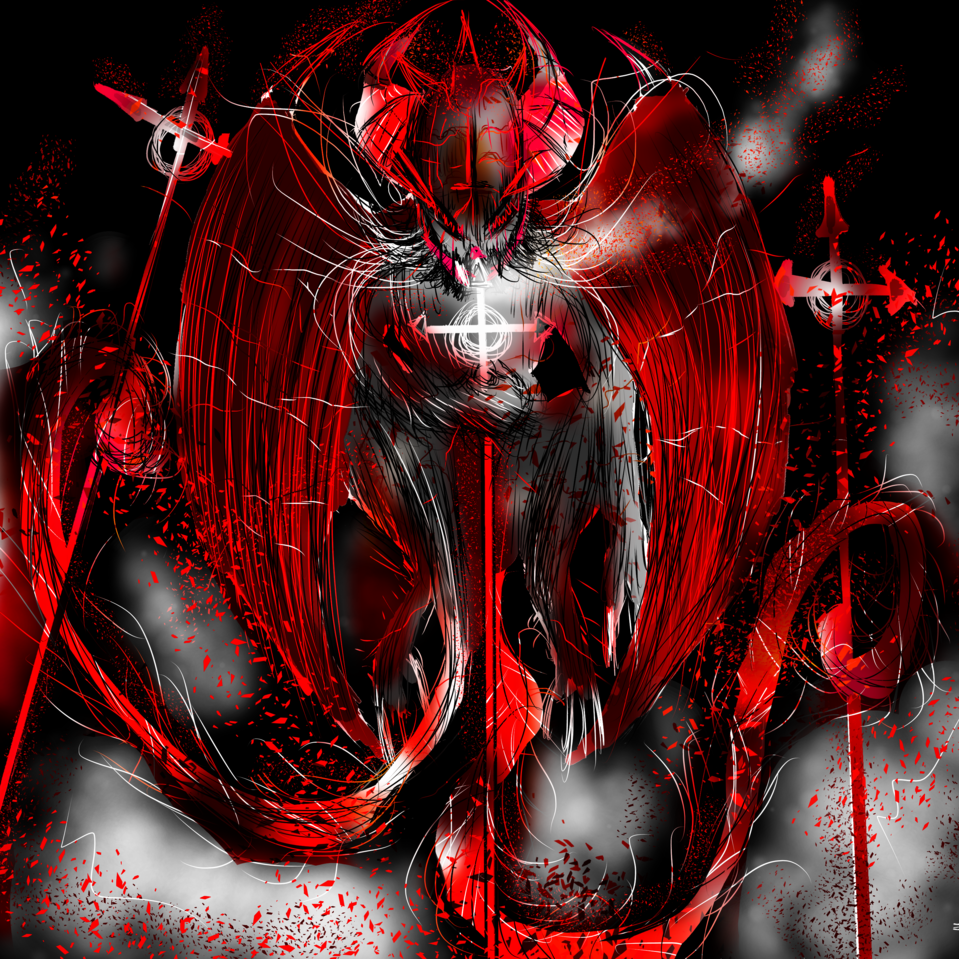 Red Illust of AcP March2021_Creature