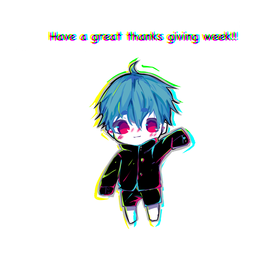 Have a great weekend and week of thanks-giving Illust of PogoRabbit medibangpaint