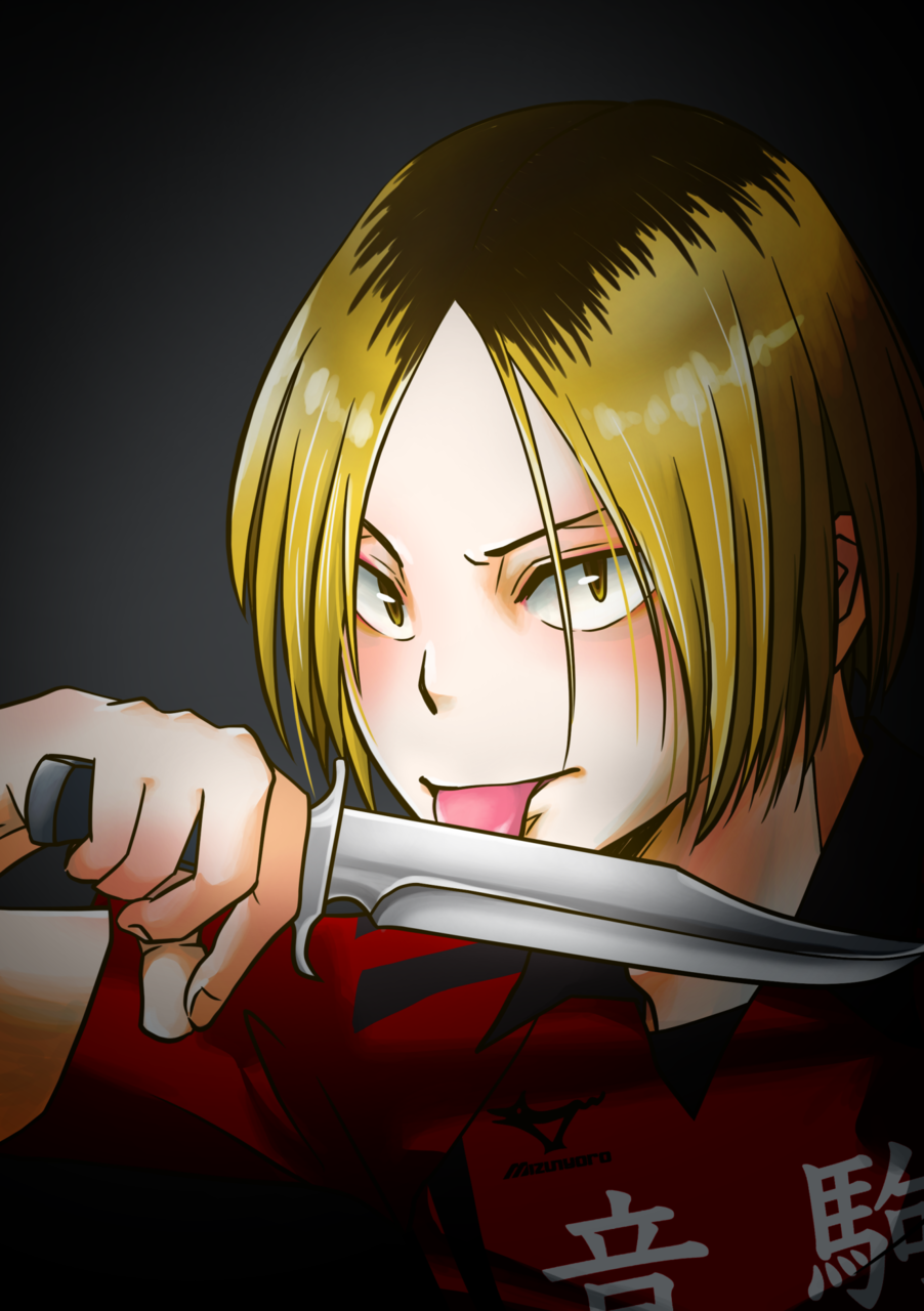 負けないよ Illust of como 孤爪研磨 fanart black Haikyu!!
