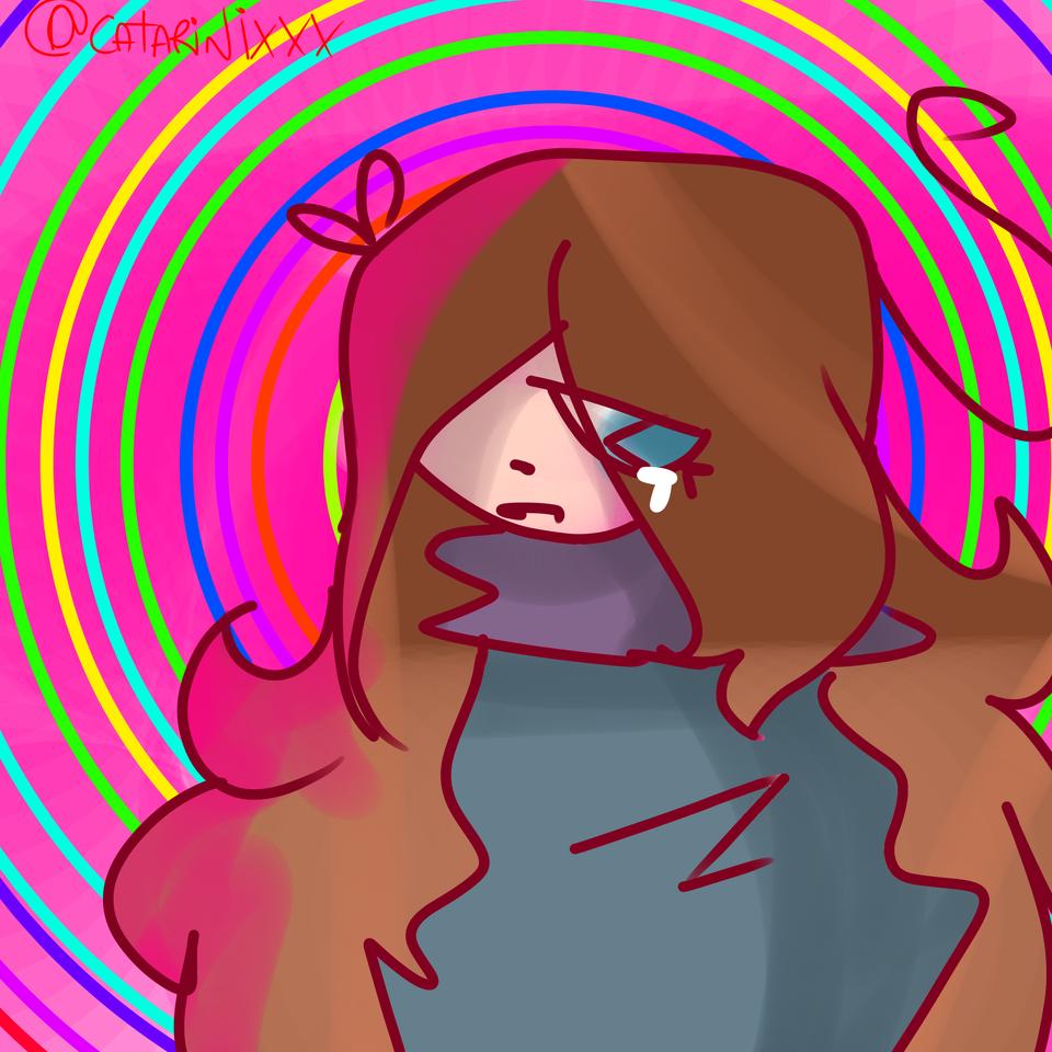 Hypnotized ✨ Illust of caтa'ѕparadιѕe💤-CringeMode- CataFurraOwO🌺 cry catarinixxx Hypnotized color_saturado