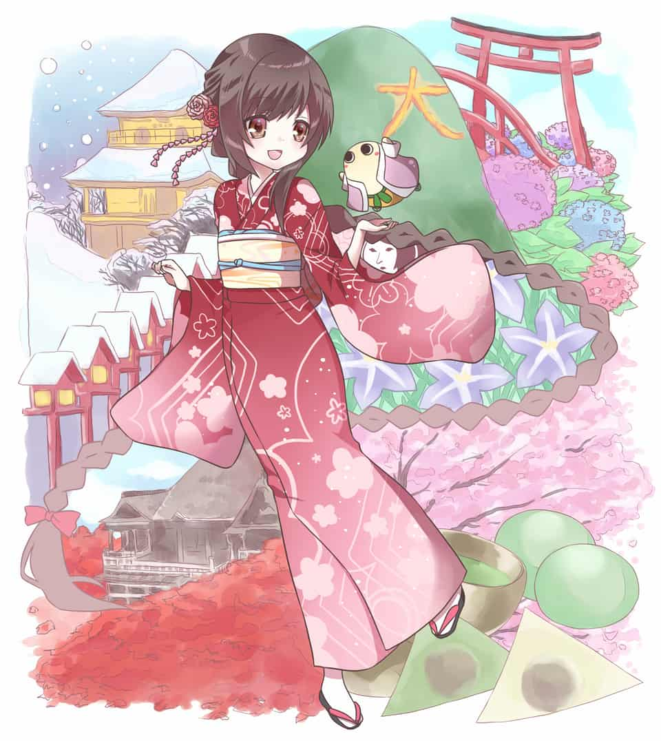 京都旅行 Illust of KEN_KEN kyoto-illust2019
