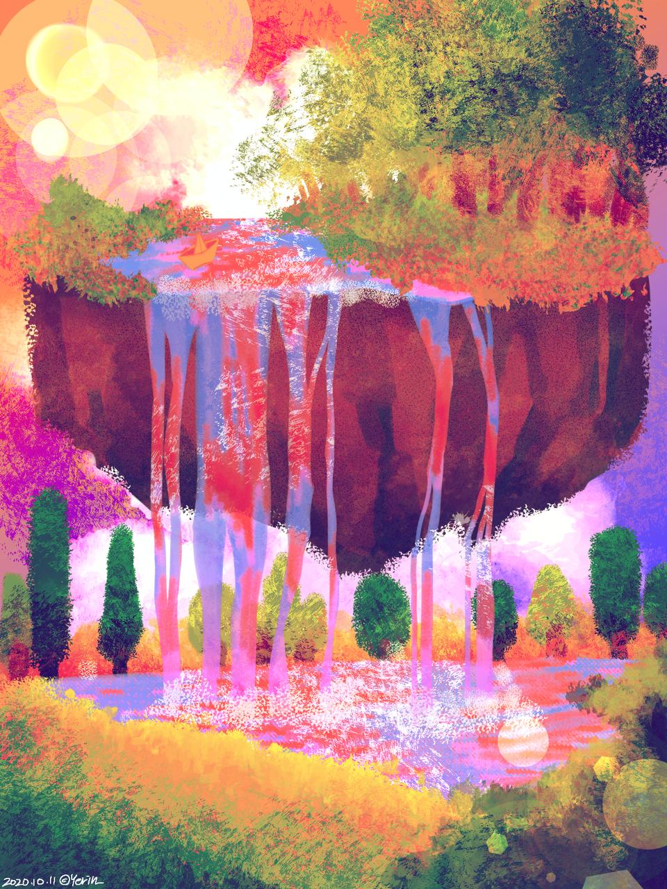 낮과 밤 Illust of 하나두울 medibangpaint color